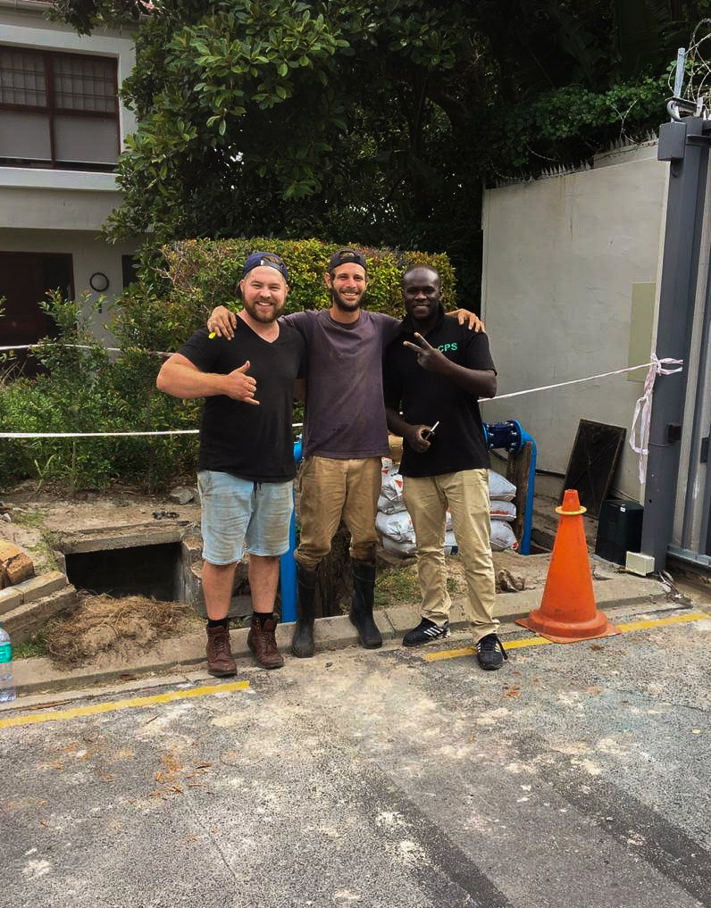 QT Plumbing and Construction Team in Cape Town